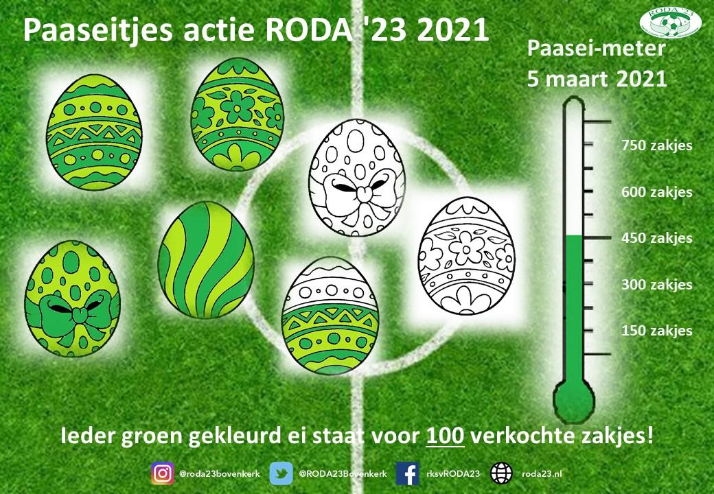Dit jaar is Pasen groen/wit! Je kunt nog steeds paaseitjes bestellen!