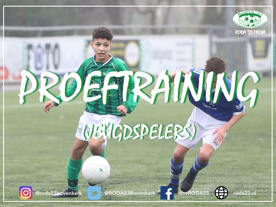 Update: Proeftrainingen RODA '23 (seizoen 2021/2022)