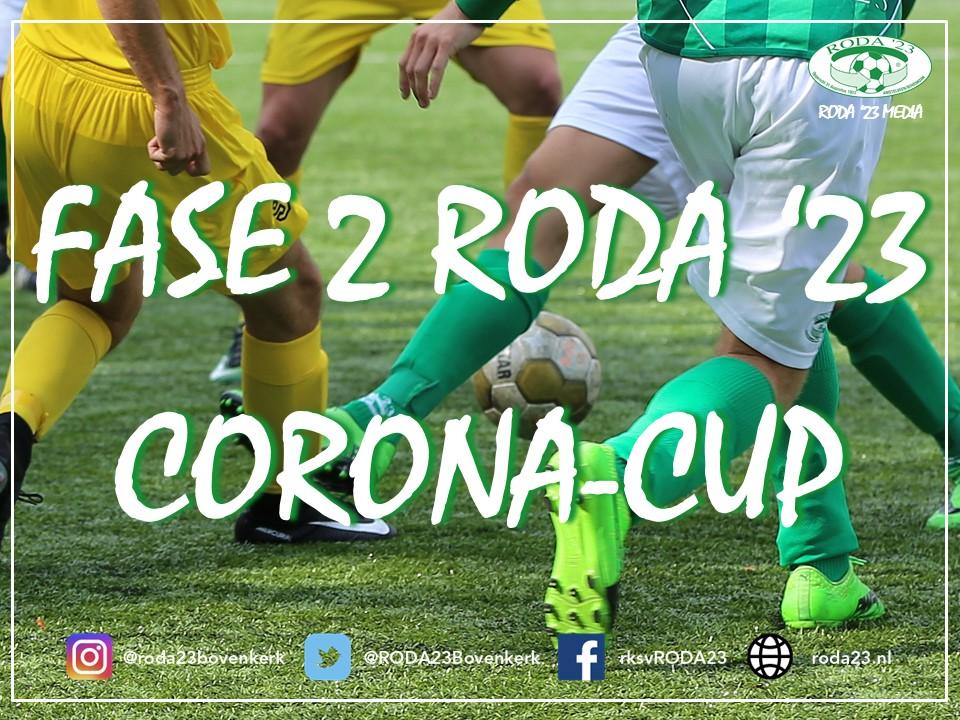 Vervolg: Fase 2 RODA '23 Corona Cup 2021 (per 14-04-21)